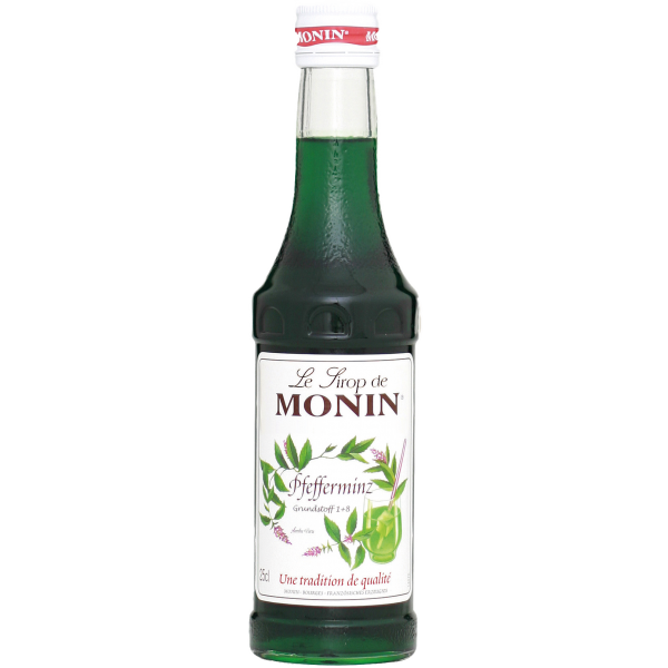Monin Sirup Pfefferminz Grün, 0,25L