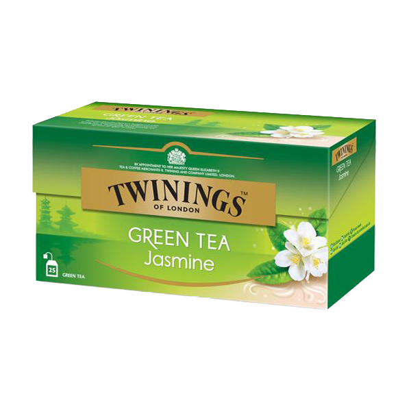 Twinings Green Tea Jasmine, 25 Teebeutel