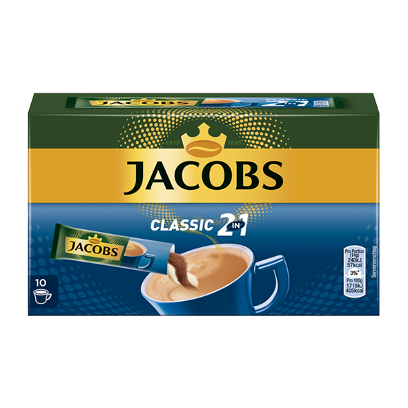 Jacobs Classic 2 in 1, 10 Portionen