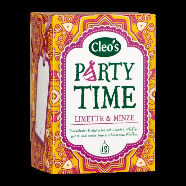 Cleo's Bio Party Time, 18 Aufgussbeutel