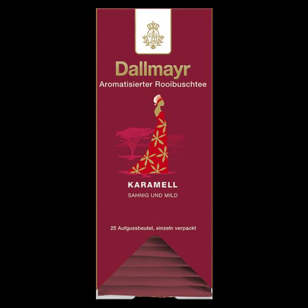 Dallmayr Rooibusch Karamell, 25 Aufgussbeutel