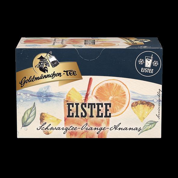 Goldmännchen-TEE EISTEE Schwarztee Orange-Ananas
