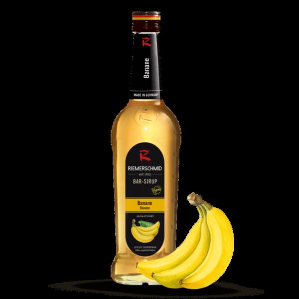 Riemerschmid Sirup Banane, 0,7L