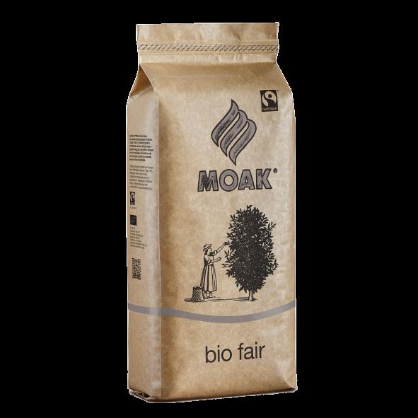 Moak Bio Fairtrade Coffee, ganze Bohne, 500g