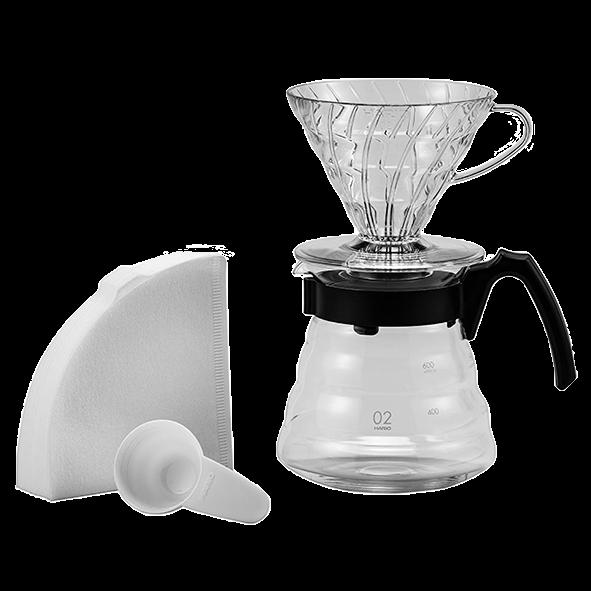 Hario V60 Craft Coffee Maker, 4 teilig