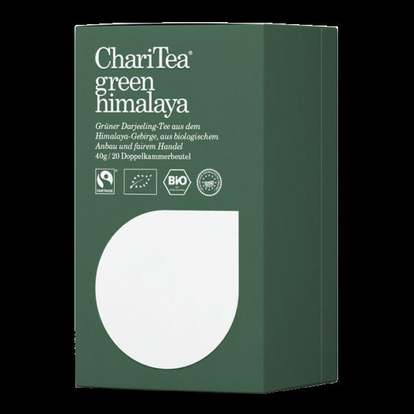 ChariTea Bio green himalaya, 20 Teebeutel