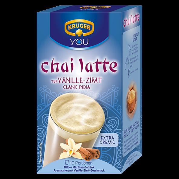 Krüger Chai Latte Vanille-Zimt, 250g