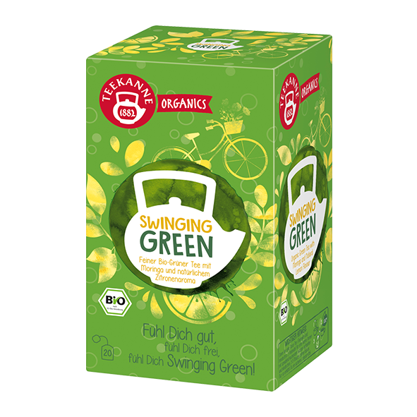 Teekanne Bio Organics Swinging Green