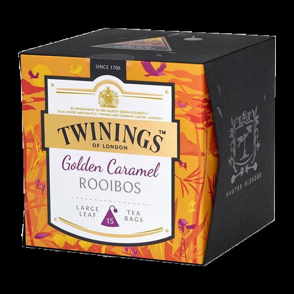 Twinings Golden Caramel Rooibos, 15 Teebeutel