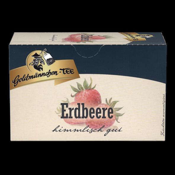 Goldmännchen-TEE Erdbeere