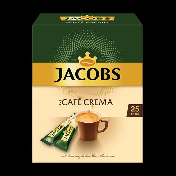 Jacobs Typ Café Crema Sticks, 25 Portionen