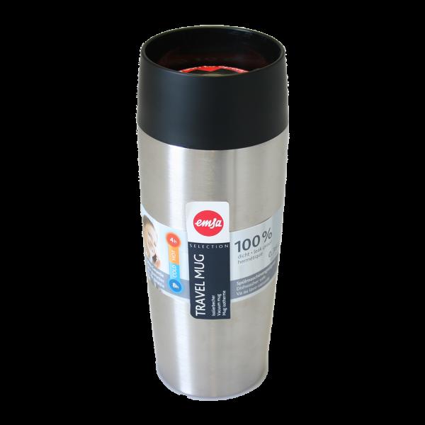 Emsa Travel Mug Isolierbecher Edelstahl 0,36l