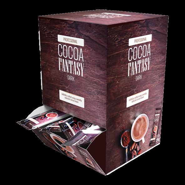 Jacobs Professional Cocoa Fantasy Dark Kakao Sticks, 27 % Kakao, Einzelportionen