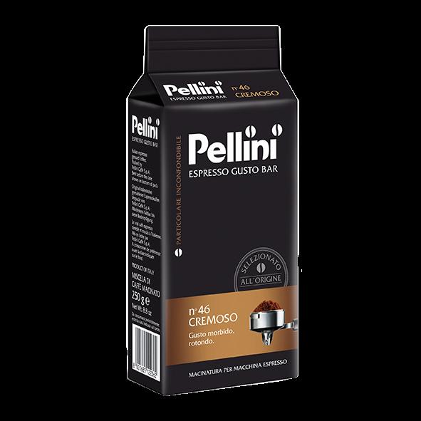Pellini Espresso Gusto Bar n° 46 Cremoso, 250g gemahlen