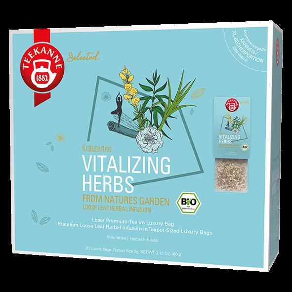 Teekanne Selected Bio Vitalizing Herbs, 20 Luxury Bags