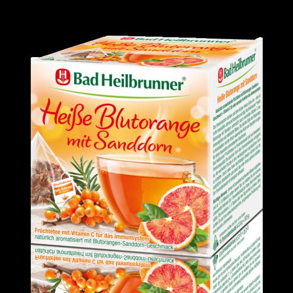 Bad Heilbrunner® Heiße Blutorange mit Sanddorn
