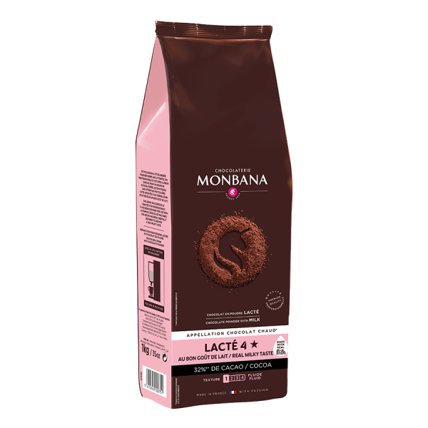 Chocolaterie Monbana Lacté 4 , 1000g