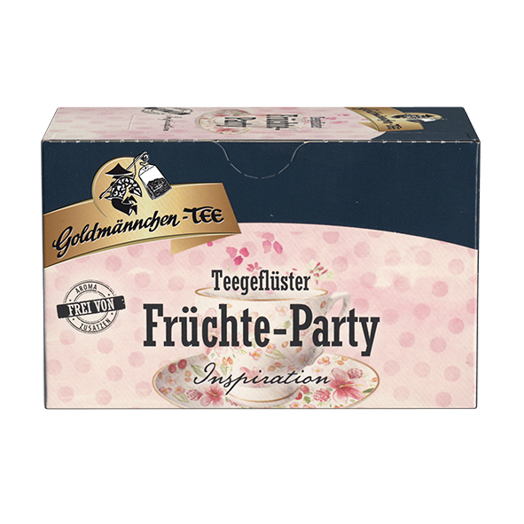 Goldmännchen-TEE Teegeflüster Früchte-Party Inspiration