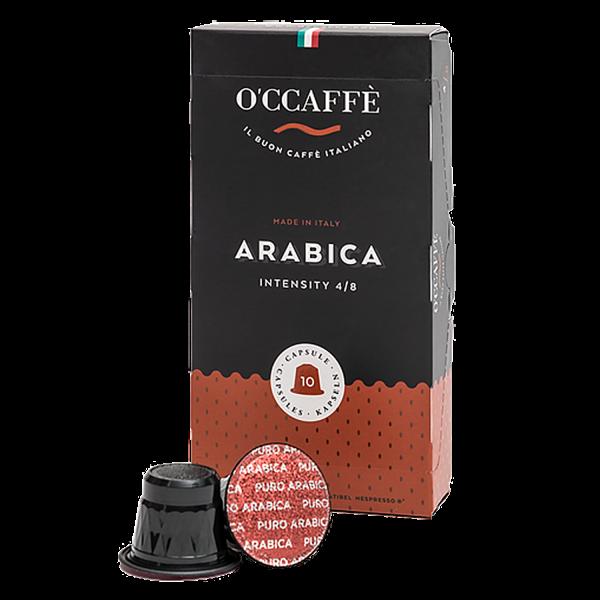 O'CCAFFÈ Arabica, 10 Kapseln