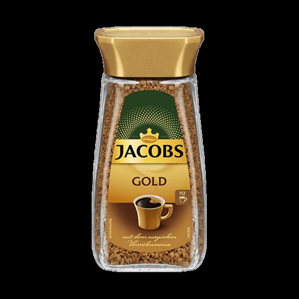 Jacobs Gold löslicher Bohnenkaffee, 200g, 112 Portionen