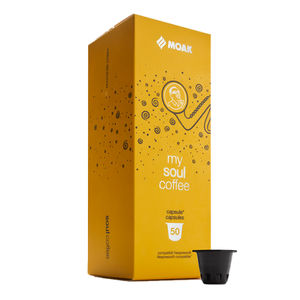 Moak Soul Coffee, Nespresso Kapseln, 50x 5,8g