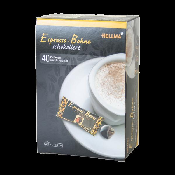 Hellma Espresso-Bohne schokoliert 40 Portionen