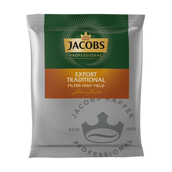 Jacobs Professional Export Traditional High Yield 90 x 55g Filterbeutel