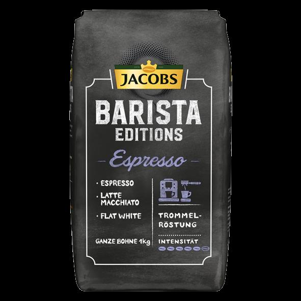 Jacobs Barista Edition Espresso, 1000g ganze Bohne