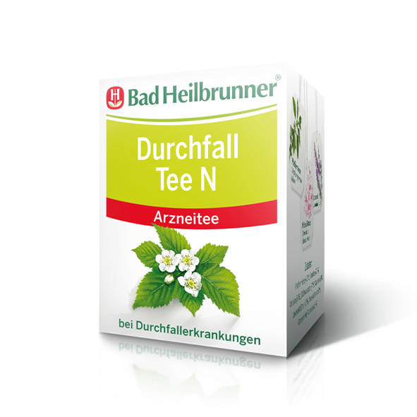 Bad Heilbrunner® Durchfall Tee N