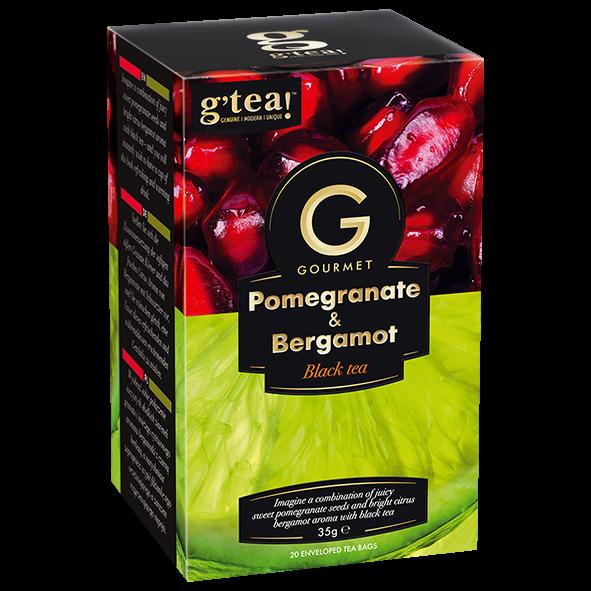 g'tea! Gourmet Pomegranate & Bergamot Black Tea