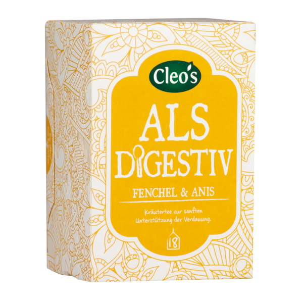 Cleo's Bio Als Digestiv, 18 Aufgussbeutel