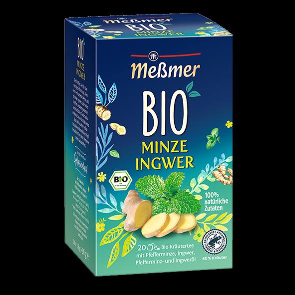 Meßmer Bio Minze Ingwer