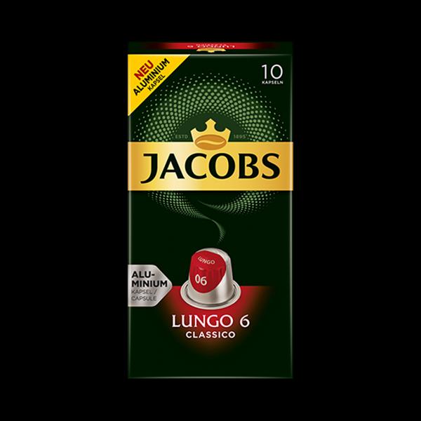 Jacobs Lungo Classico, 10 Kapseln