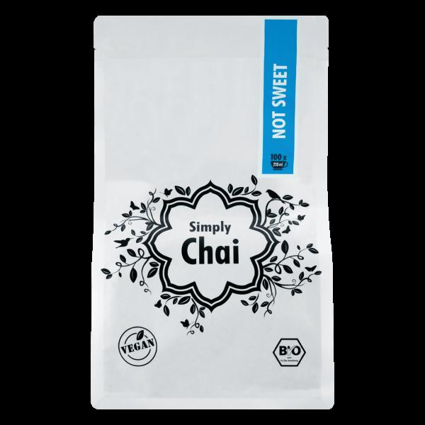 Simply Chai Bio Not Sweet, 500g