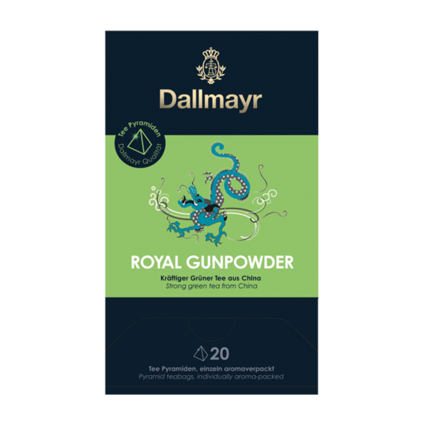 Dallmayr Royal Gunpowder, 20 Pyramidenbeutel
