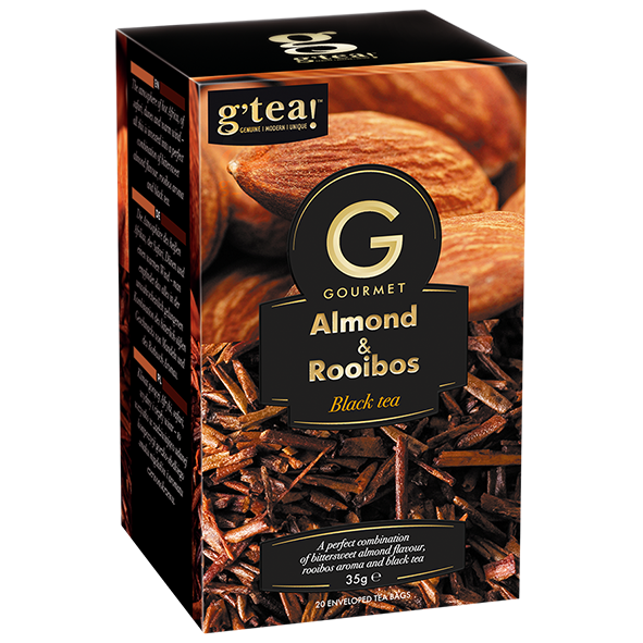 g'tea! Gourmet Almond & Rooibos Black Tea