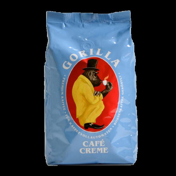 Gorilla Café Creme, 1000g ganze Bohne