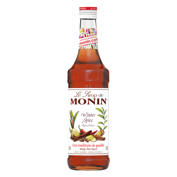 Monin Sirup Winter Spice, 0,7L