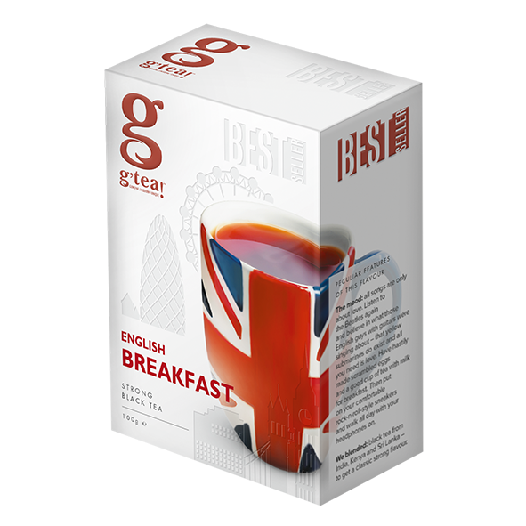 g'tea! English Breakfast, 100g loser Tee