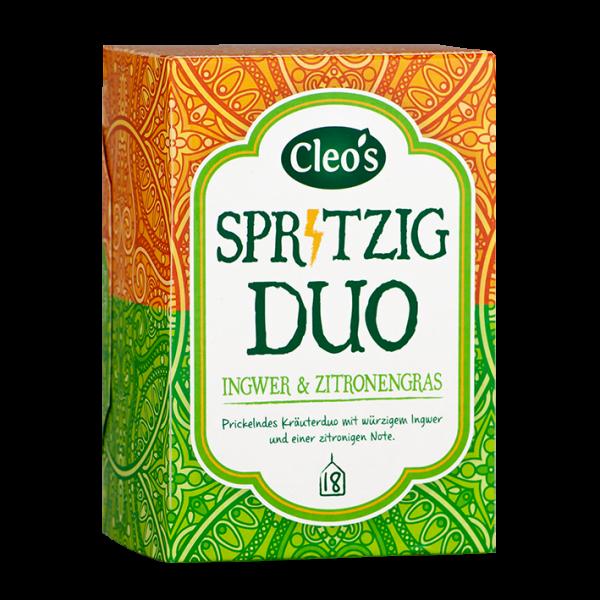 Cleo's Bio Spritziges Duo, 18 Aufgussbeutel