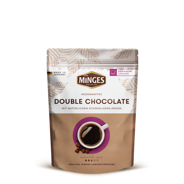 Minges Aroma Double Chocolate, 250g gemahlen