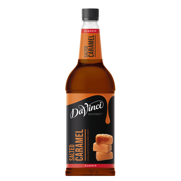 DaVinci Gourmet Sirup Classic Salted Caramel, 1,0L PET