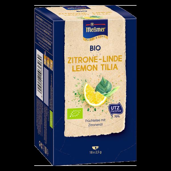 Meßmer ProfiLine Bio Zitrone-Linde 18er