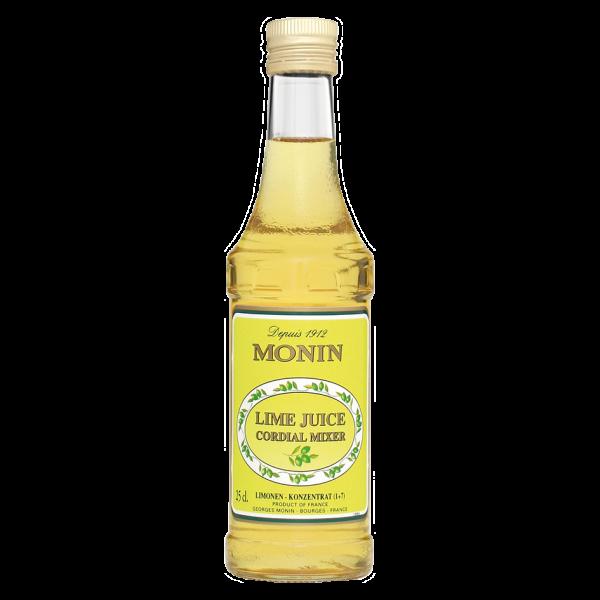 Monin Lime Juice Mixer, 0,25L