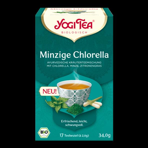 YogiTea Bio Minzige Chlorella