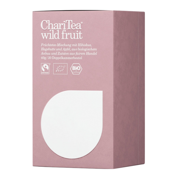 ChariTea Bio wild fruit, 20 Teebeutel