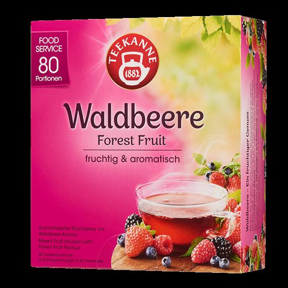 Teekanne Waldbeere, 80 Beutel