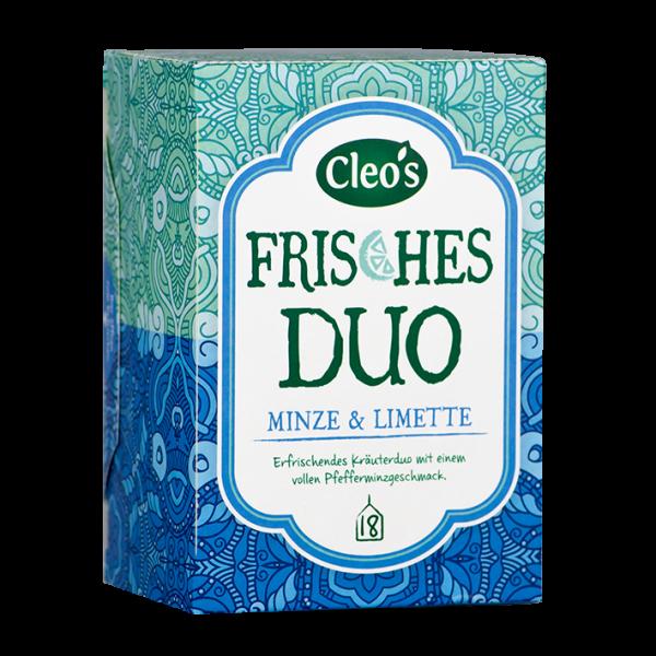 Cleo's Bio Frisches Duo, 18 Aufgussbeutel