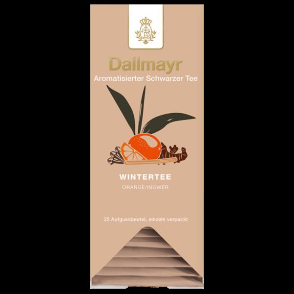 Dallmayr Wintertee Orange-Ingwer, 25 Aufgussbeutel