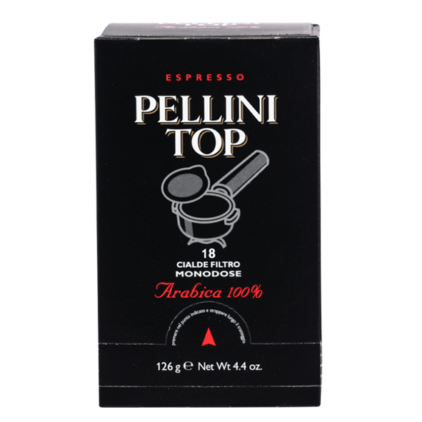 Pellini Top Arabica 100%, 18 E.S.E. Pads